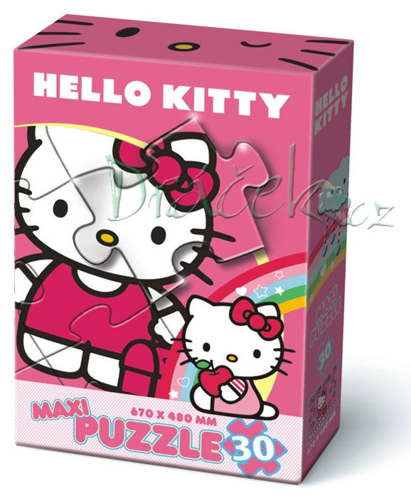 Puzzle Maxi 30 Hello Kitty