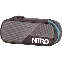 NITRO penál PENCIL CASE blur-blue trims