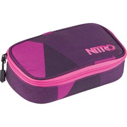 NITRO penál PENCIL CASE XL fragments purple