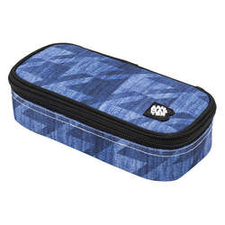 Studentský penál CASE BAG 8 B BLUE/BLACK