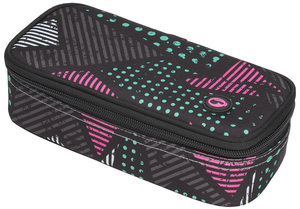 Studentský penál CASE MONO 7 A BLACK/PINK/GREY