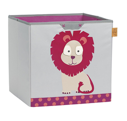 Box na hračky Toy Cube Storage Wildlife Lion