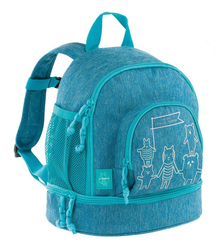 Dětský batoh Lässig Mini Backpack About Friends melange blue