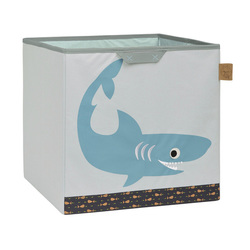 Box na hračky Toy Cube Storage Shark Ocean