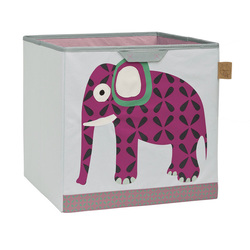 Box na hračky Toy Cube Storage Wildlife Elephant