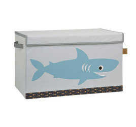 Box na hračky Toy Trunk Shark Ocean