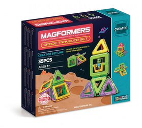Stavebnice Magformers - Space Traveler - 35