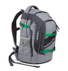Studentský batoh Ergobag Satch Pack - Blazing Grey