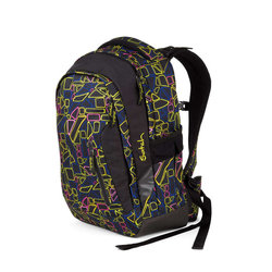 Studentský batoh Ergobag Satch Sleek - Disco Frisco