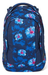 Studentský batoh Ergobag Satch Sleek - Waikiki Blue