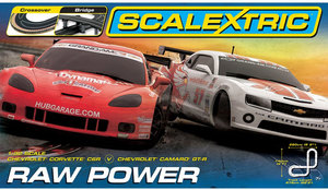 Autodráha Scalextric Raw Power Set