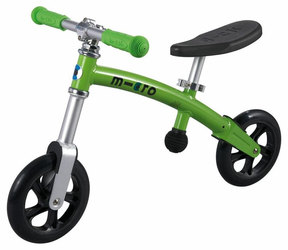 Odrážedlo Micro G-Bike+ light green